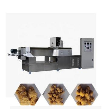 Automatic soy protein food meat making plant equipment for production tsp extruder soya machine