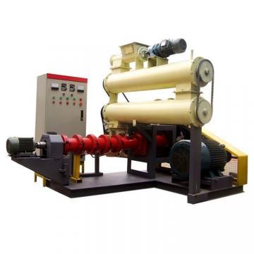 Automatic Floating Fish Feed Extruder Machine , Feed Production Machine