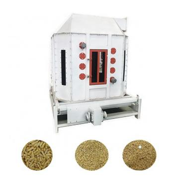 Counterflow Type Animal Feed Pellet Cooler Soybean Meal Puffing Material