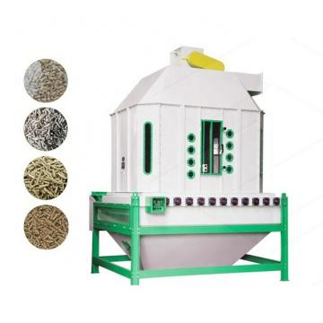 Counter Flow Cooler Cooling Machine Box Feed Pellet Expanded Extruded Soybean Meal Puffing Material