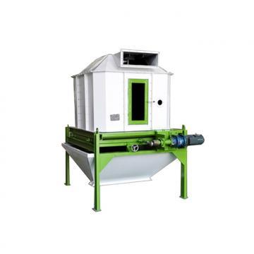 Counter Flow Feed Pellet Cooler Screening Machine Multifunction For Animal