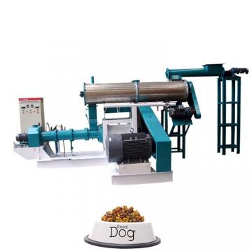 Single / Double Color Pet Biscuit Making Dog Biscuit Machine Made By Stainless Steel