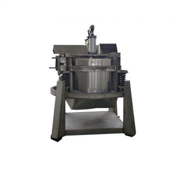 Small footprint automatic sludge dewatering screw press machine