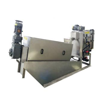 Dewatering Screw Press Machine for Poultry Manure 1900*750* 1680mm