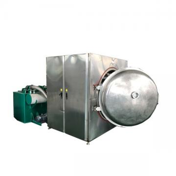 Electronic 15kw Vacuum Drying Equipment , Silver Microwave Vacuum Dryer