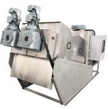 China stainless steel screw dewatering machine filter press