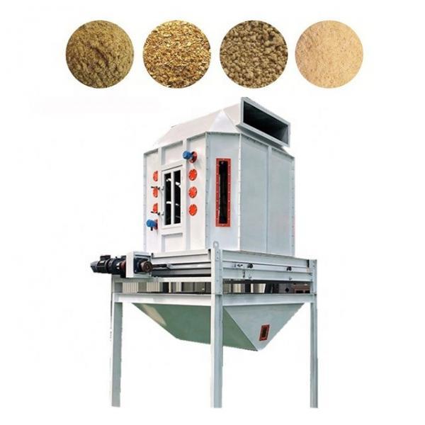 High Efficiency Feed Pellet Cooler Counterflow Rust Resistant Energy Saving #2 image