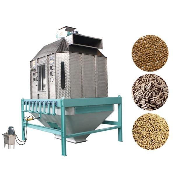 High Efficiency Feed Pellet Cooler Counterflow Rust Resistant Energy Saving #3 image