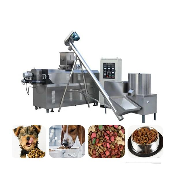 Electric Dog Biscuit Making Machine SS Pet Food Manufacturing Equipment #2 image