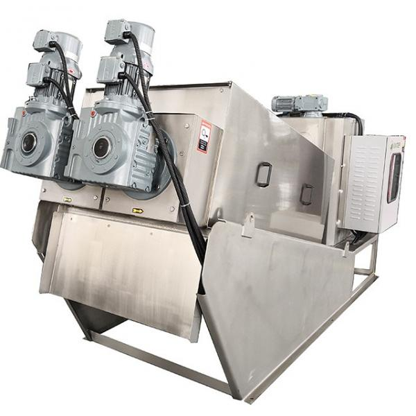 Multi-Disk Screw Press Sludge Dewatering Machine Waste Water Treatment with ISO Certificated #2 image