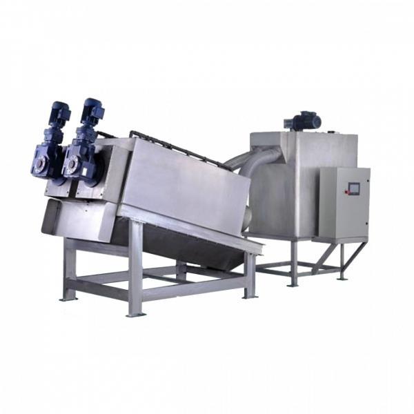30 Kg / H Dewatering Screw Press Machine , Screw Press For Sludge Dewatering #2 image
