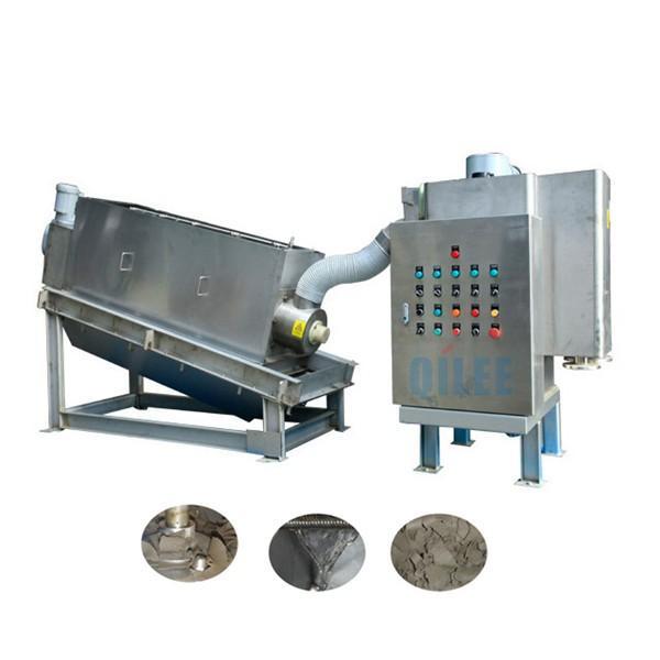 30 Kg / H Dewatering Screw Press Machine , Screw Press For Sludge Dewatering #1 image