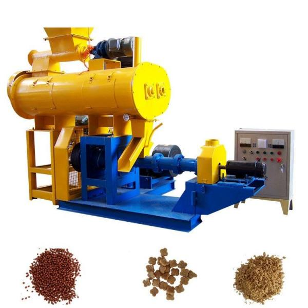 Farm use flat die shaft drive 300-500kg/h mini poultry cattle feed pellet making mill machine #1 image