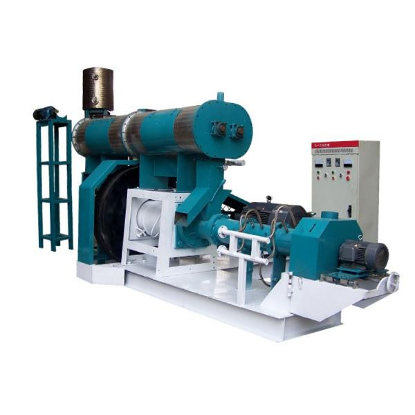 Pet Dog Cat Poultry Chicken Fish Feed Making Extruder Granulation Processing Animal Feed Pellet Machine #1 image