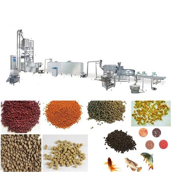 Pet Dog Cat Poultry Chicken Fish Feed Making Extruder Granulation Processing Animal Feed Pellet Machine #3 image