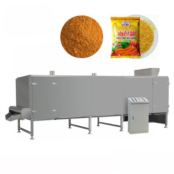 Automatic Shrimp Fish Beef Chicken Dressing Japaness Plain Panko Bread Crumbs Production Line #1 image