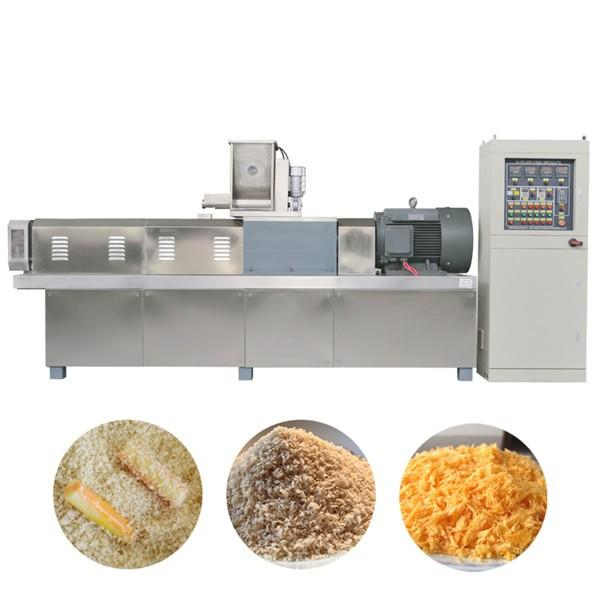 Automatic Shrimp Fish Beef Chicken Dressing Japaness Plain Panko Bread Crumbs Production Line #3 image